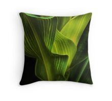 corn stalk Throw Pillow