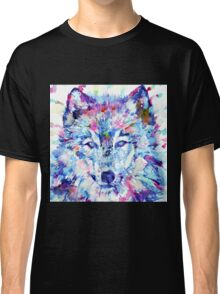 WATERCOLOR WOLF Classic T-Shirt
