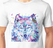 WATERCOLOR WOLF Unisex T-Shirt