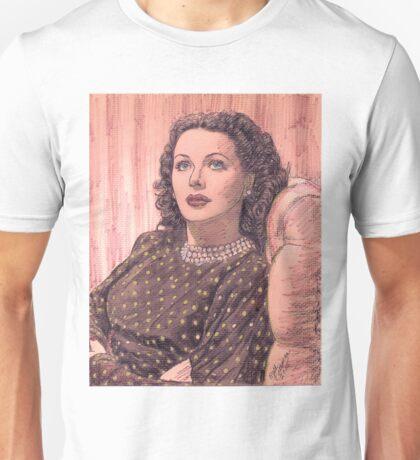 HEDY LAMARR Unisex T-Shirt