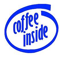 Coffee inside by Barista