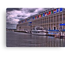 Seaport Elite at Word Trade Center, Boston   MA Canvas Print