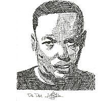 Dr. Dre - Sketch Photographic Print