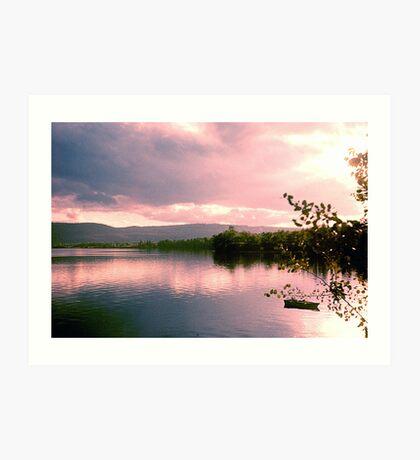 Lake Clear Morning Art Print