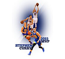 Stephen Curry 2015 MVP Print #4 Photographic Print