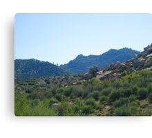 Hiking At The Pinnacles Canvas Print