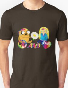 Peace & Bruv Inspired by Adventure Time Unisex T-Shirt