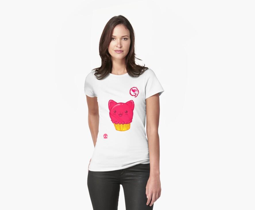 Cupcake Kitty by AngryMarshmallo
