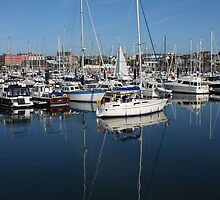 Bangor Marina by Mike Warman