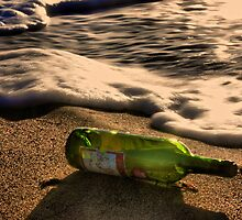 Message in a Bottle by Barbara  Brown