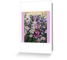 Meadow fairy  Greeting Card