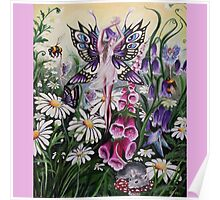 Meadow fairy  Poster