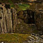 slate quarry by brian a smith