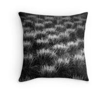 Night grass Throw Pillow