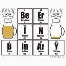 BeEr IN BInArY by Geek Shirts