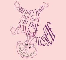 Cheshire Cat Quote Kids Clothes