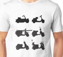 History of Vespa Unisex T-Shirt