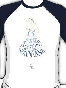 Alice Nonsense T-Shirt
