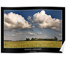 Polder Landscape Poster