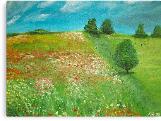Polish meadow by Monika Howarth