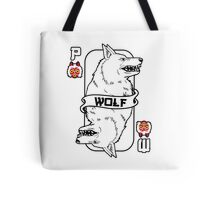 Moro the wolf card Tote Bag