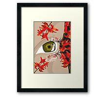 Eyecatcher I Framed Print