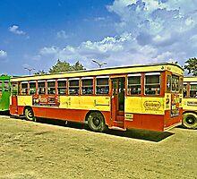 Bus Stop by Prasad