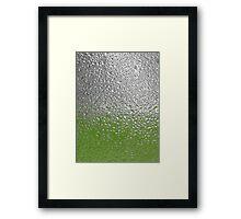 :) rainy day  Framed Print