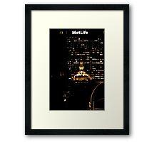 Helmsley & Metlife Framed Print
