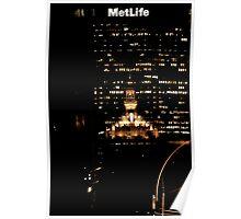 Helmsley & Metlife Poster