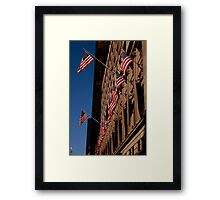 Saks 5th Avenue Detail Framed Print