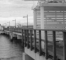 Woody Point Jetty by Kylie Van Ingen