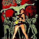 Zombie Killer Cheerleader by simonbreeze
