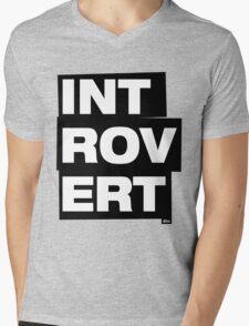 Introvert Mens V-Neck T-Shirt