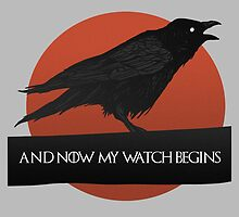 A Crows Speech. Game Of Thrones. by lewisimpson
