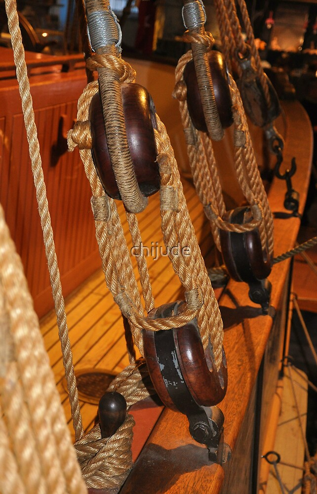 """Rigging not """"For Sail"""" - Active II by chijude"""