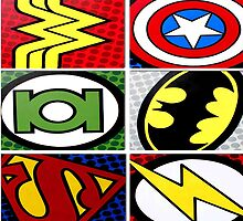 The avengers All logo super heroes by ReallityArtwork