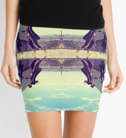 Jews in black can fly Vintage Mini Skirt