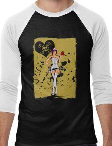 Nurse Heart Ripper Men's Baseball ¾ T-Shirt