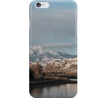 Yellowstone River Morning Mood #7 iPhone Case/Skin