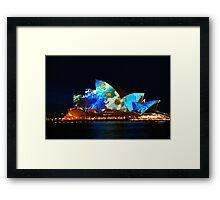 Sydney Opera House Australia - HDR Framed Print