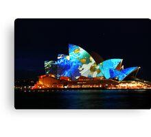 Sydney Opera House Australia - HDR Canvas Print