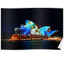 Sydney Opera House Australia - HDR Poster