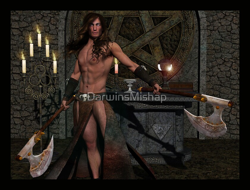 Male Wiccan by DarwinsMishap