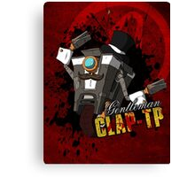 Borderlands - Gentleman Claptrap Canvas Print