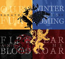 Game of Thrones by rosescreation