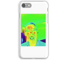 crazy man iPhone Case/Skin