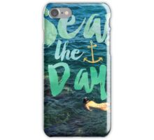 Seas the Day iPhone Case/Skin