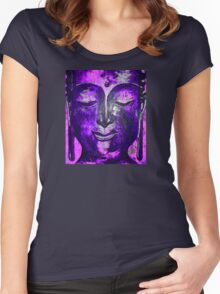 Buddha of Compassion 1 - Design 5 Women's Fitted Scoop T-Shirt