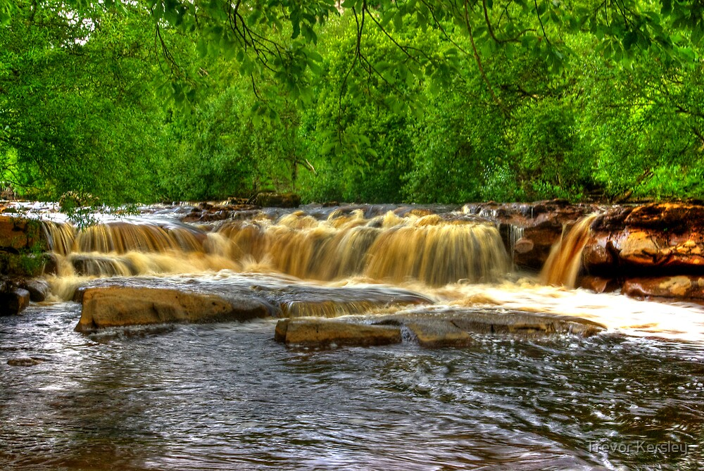 Wainwath Force - Keld 2 of 5 by Trevor Kersley